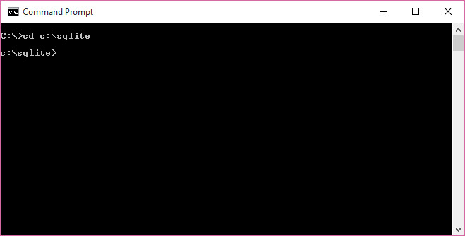 Run SQLite