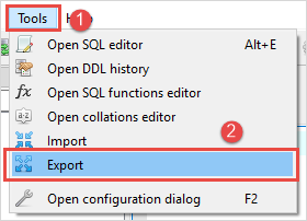 Export SQLite Database To a CSV File